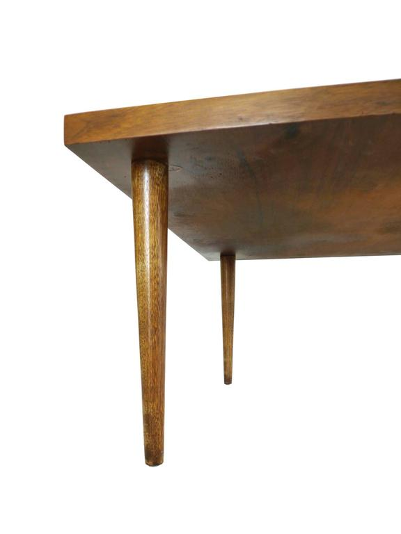 Brass Midcentury Cocktail Table by Merton Gershun For Sale