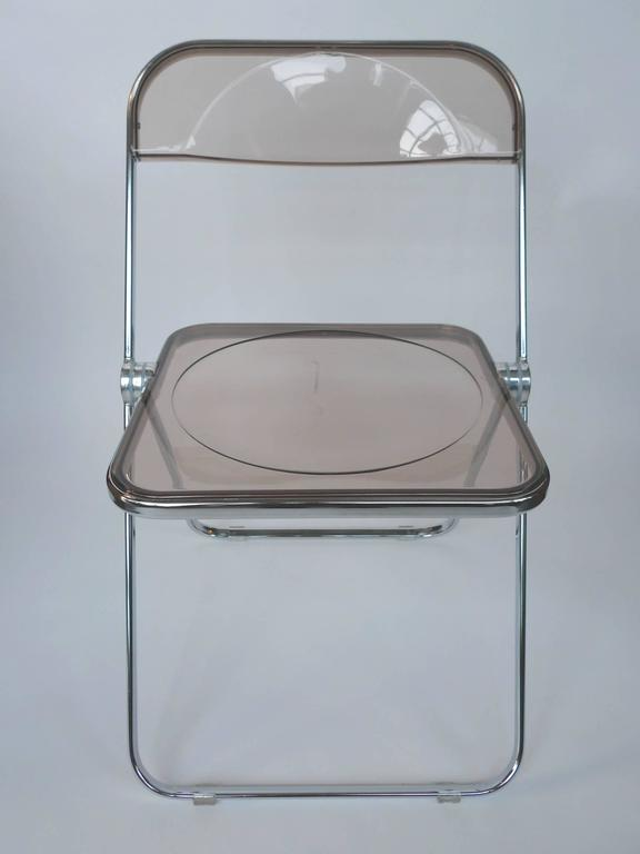 This Set Of 6 Folding Chairs Were Designed By Giancarlo Piretti For Anonima  Castelli In The