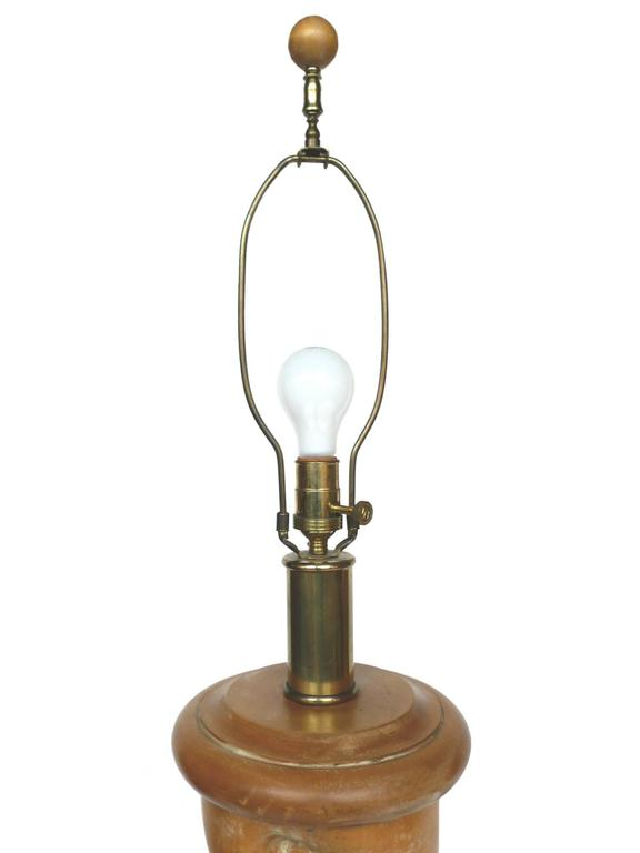 Pair Of Early 1940s Italian Barley Twist Floor Lamps At