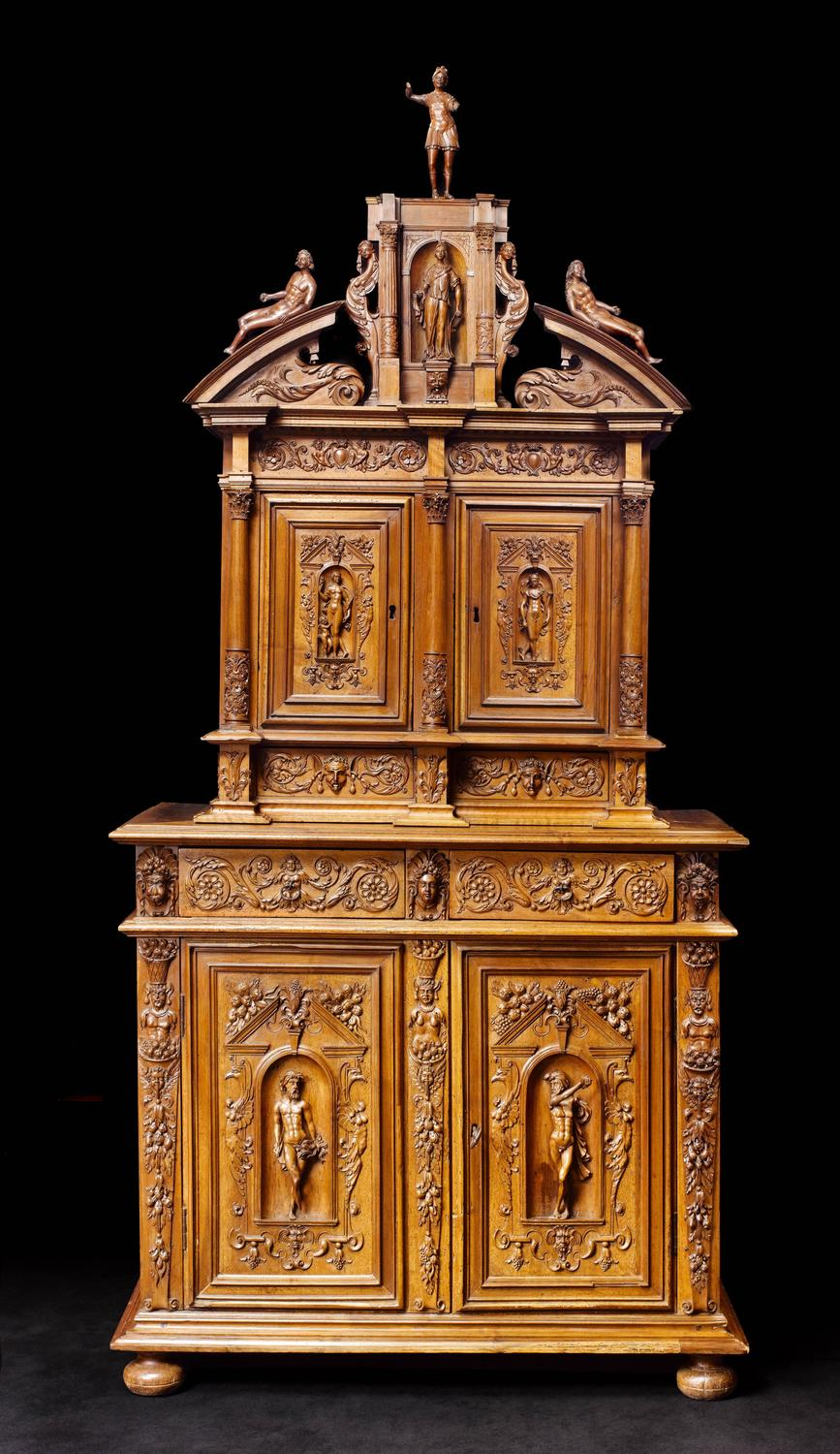 French Cabinet Renaissance Period 16th Century For Sale At