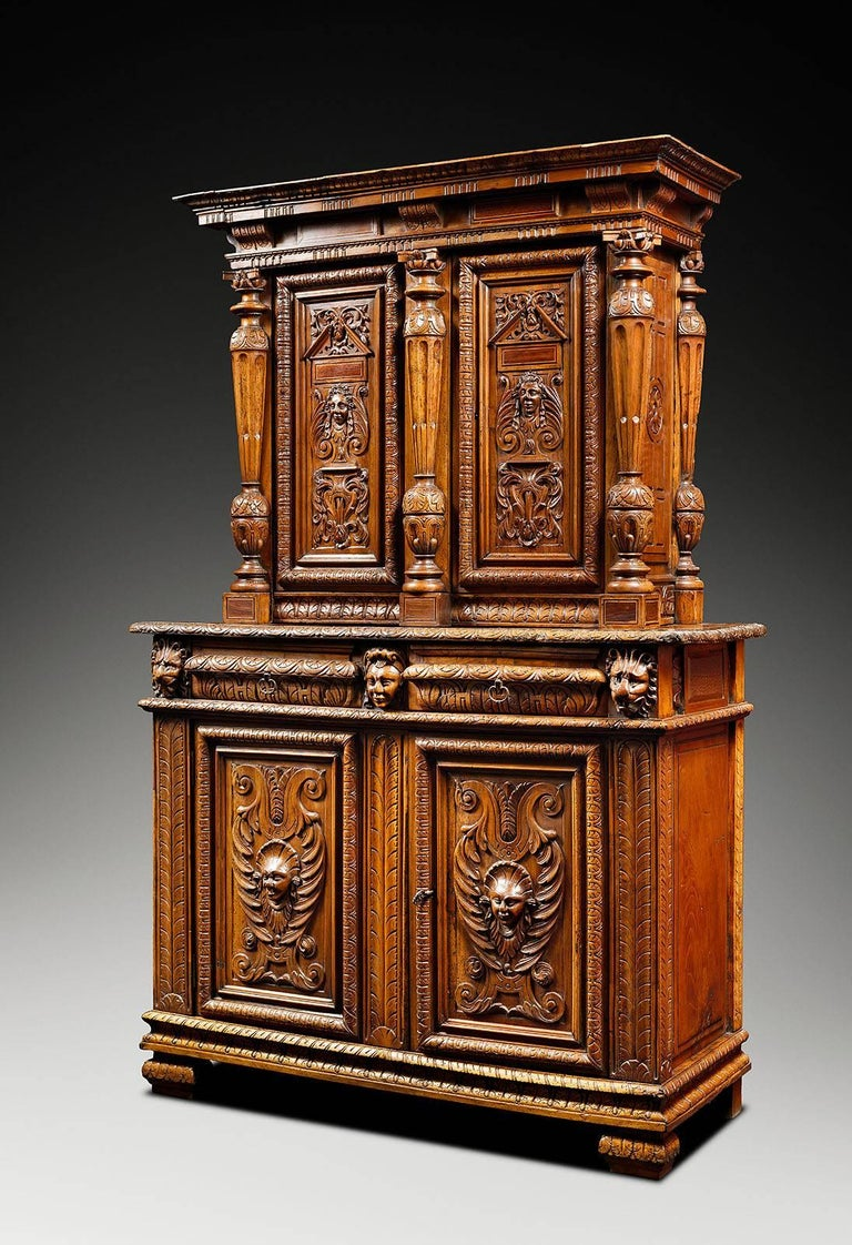 kitchen cabinets 40cm depth bellifontain inspired renaissance light walnut cabinet for 19908