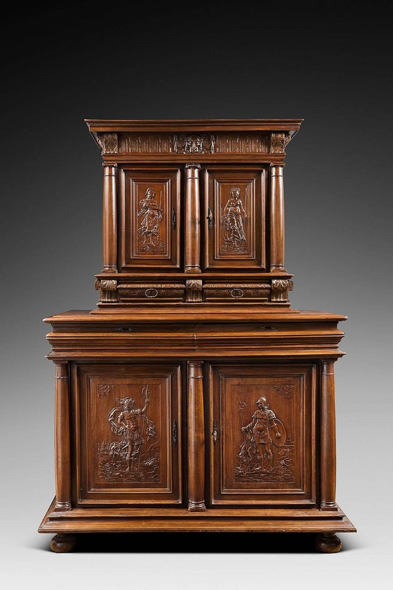 16th century french second renaissance 39 meuble deux for Meuble for french furniture