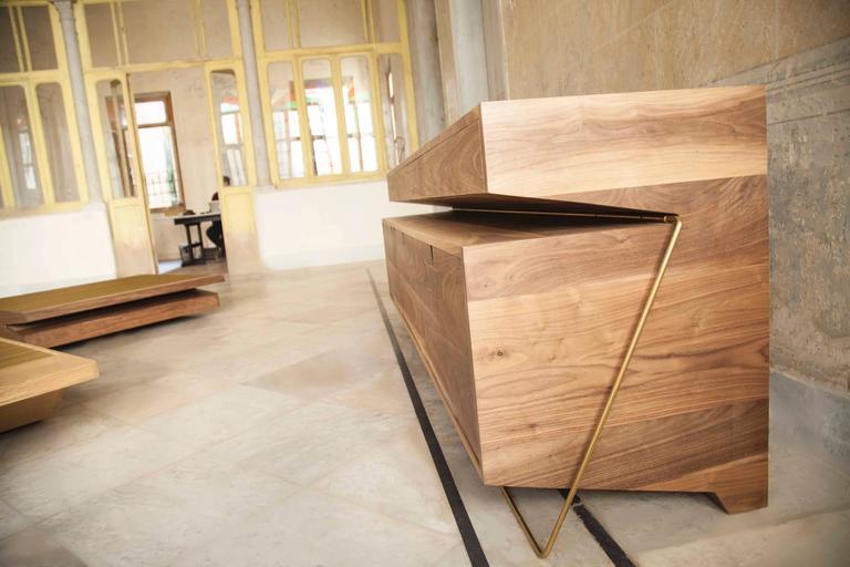 Scandinavian Modern Buffet by Rana Haddad and Pascal Hachem For Sale