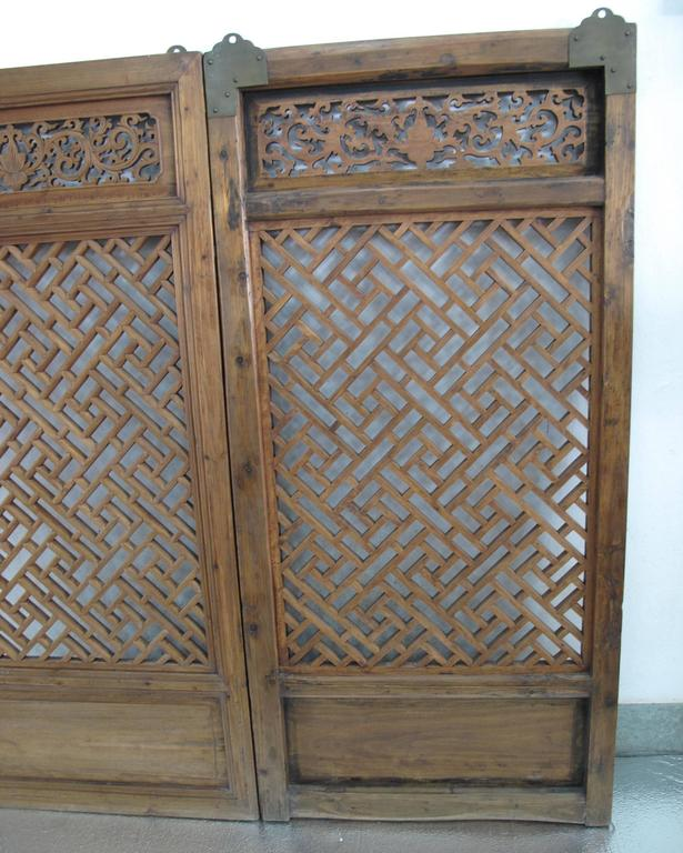 Pair of early 19th century chinese window screens for sale for Window screens for sale