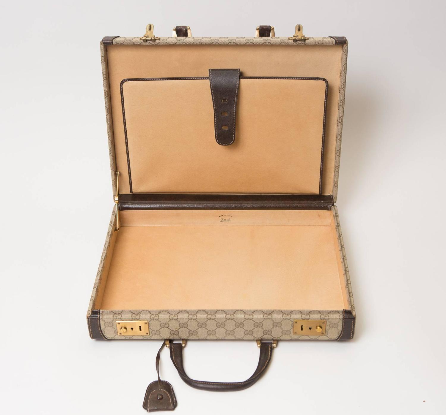 Vintage Gucci Briefcase at 1stdibs