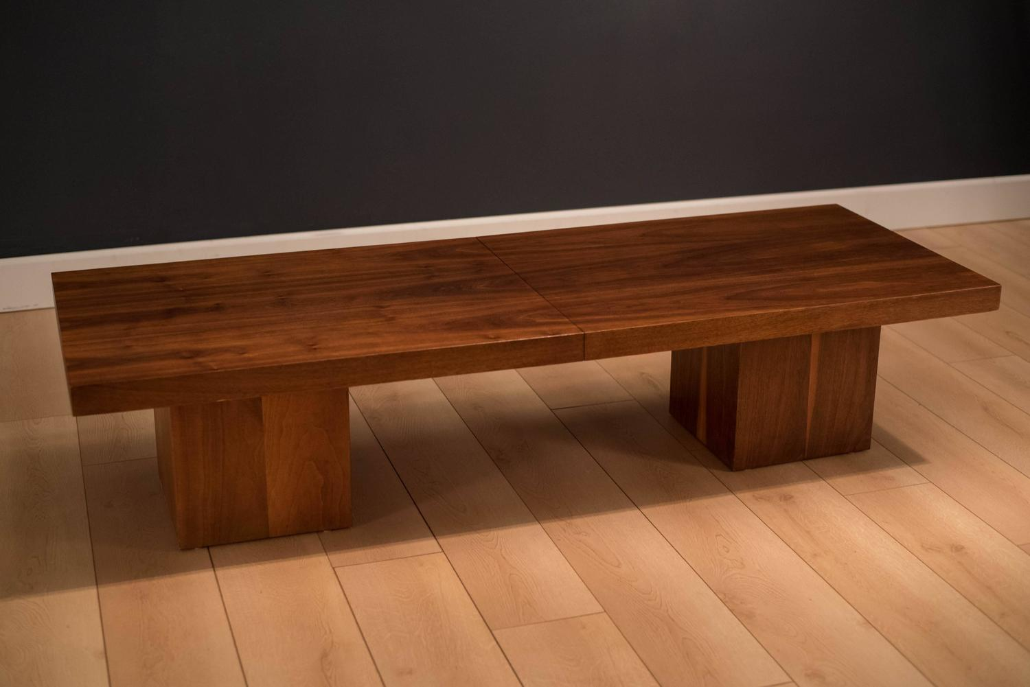 Expandable Coffee Table By John Keal For Brown Saltman For Sale At 1stdibs