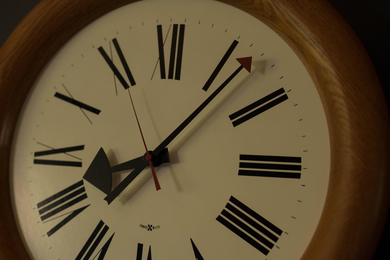 vintage arthur umanoff howard miller clock for sale at 1stdibs