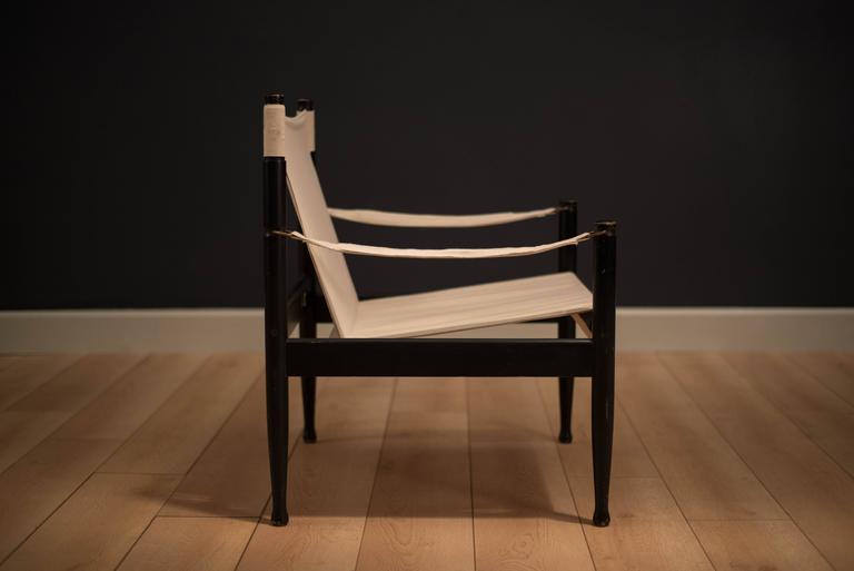 Midcentury Erik Worts Safari Chair 2