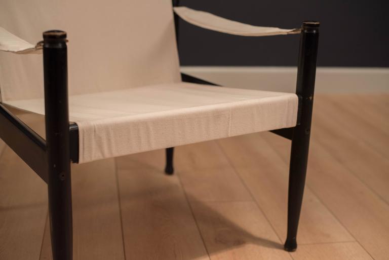 Midcentury Erik Worts Safari Chair 6