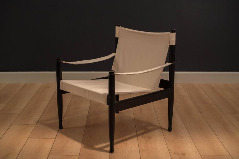 Midcentury Erik Worts Safari Chair 3