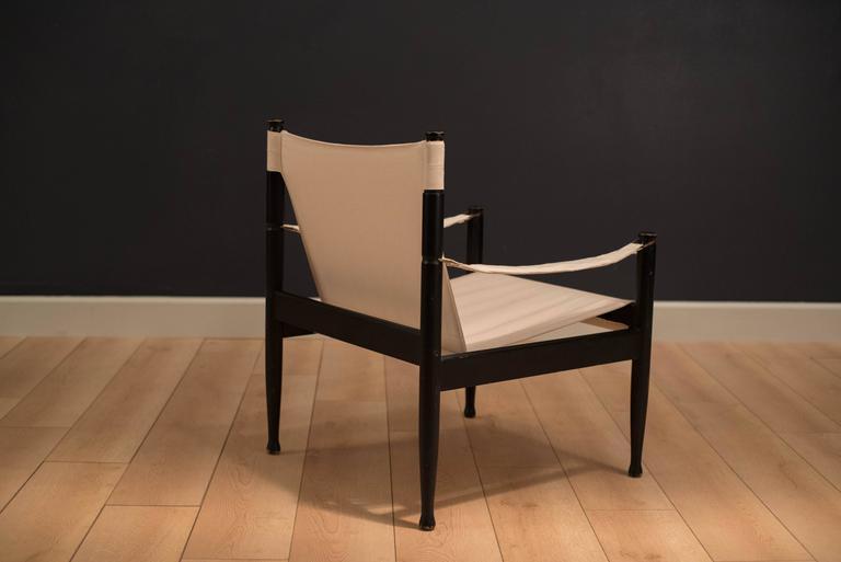Midcentury Erik Worts Safari Chair 8