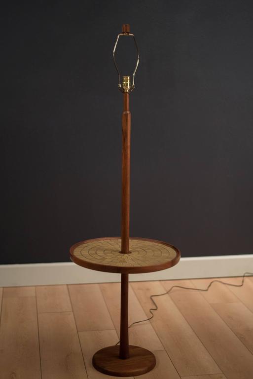Mid-Century Modern Mid-Century Martz Table Floor Lamp For Sale