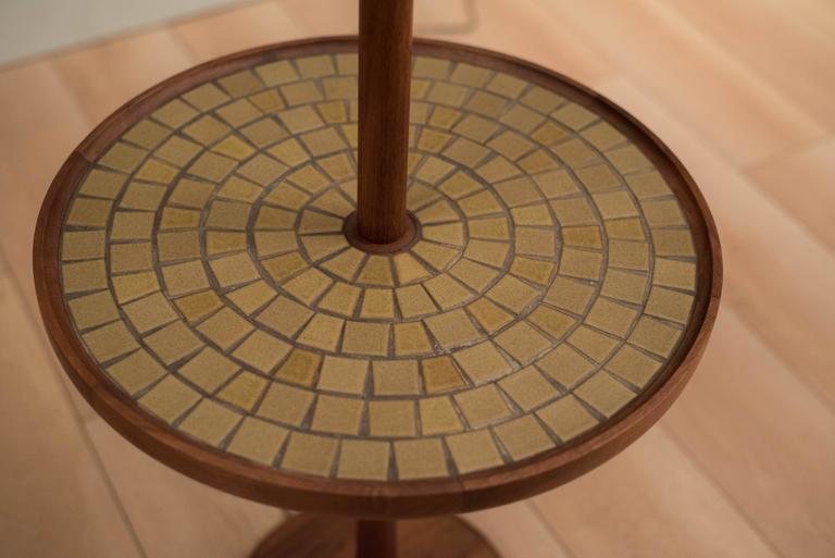 American Mid-Century Martz Table Floor Lamp For Sale