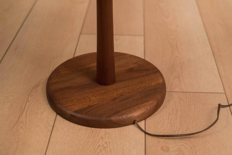 Mid-Century Martz Table Floor Lamp In Good Condition For Sale In San Jose, CA