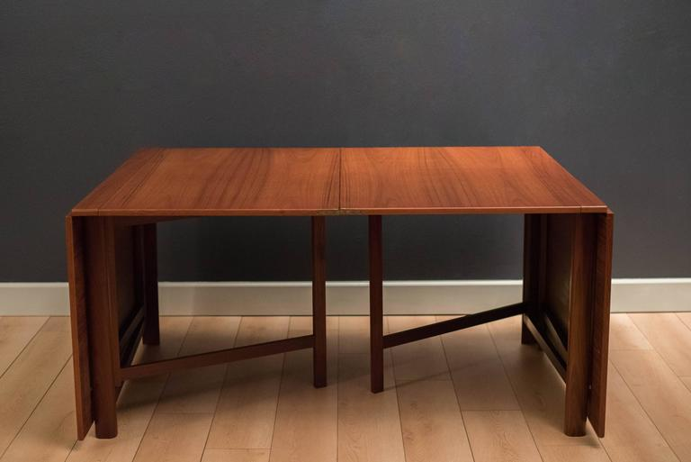 Teak Expandable Bruno Mathsson Maria Dining Table at 1stdibs : maria2l from www.1stdibs.com size 768 x 513 jpeg 26kB