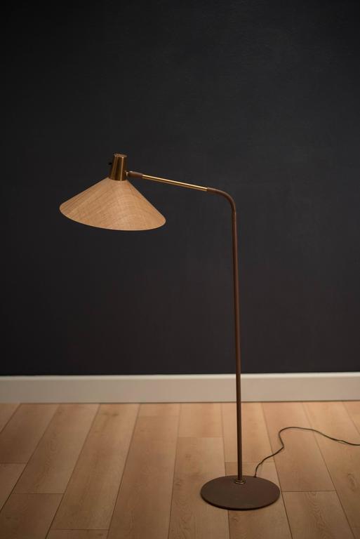 Mid Century Adjustable Task Floor Lamp At 1stdibs