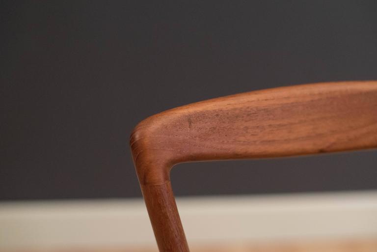 Pair of Danish Teak Barstools by Henry Rosengren For Sale 4
