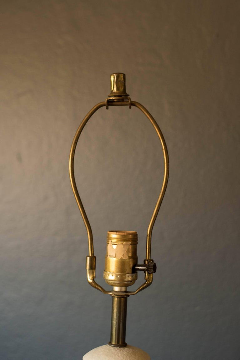 Mid Century Modern Pottery Lamp For Sale At 1stdibs