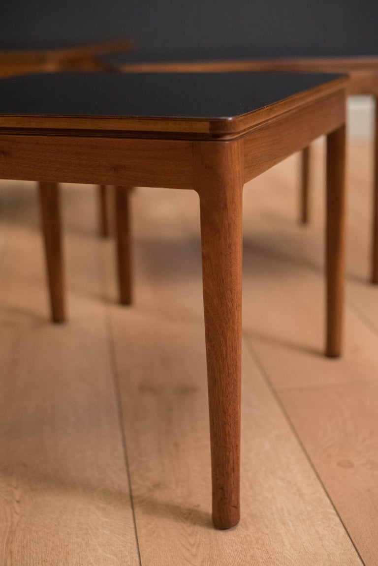 Midcentury Drexel Declaration Coffee Table With Nesting Stool Tables For Sale At 1stdibs