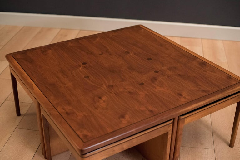 Mid Century Drexel Declaration Coffee Table With Nesting