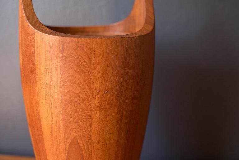 Teak Vintage Large Dansk Congo Jens Quistgaard Ice Bucket For Sale