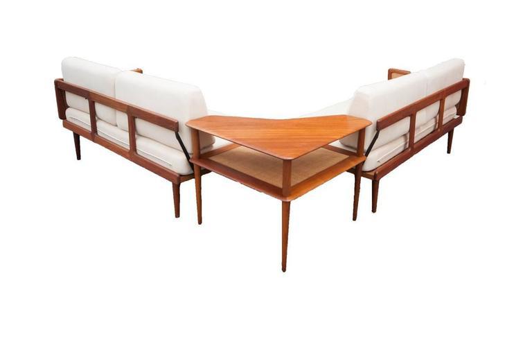 913145555cb00 Peter Hvidt and Orla Mølgaard-Nielsen Sectional Sofa with Corner ...