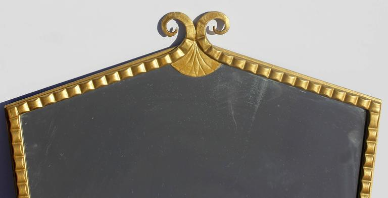 Art Deco Gilt Mirror 2