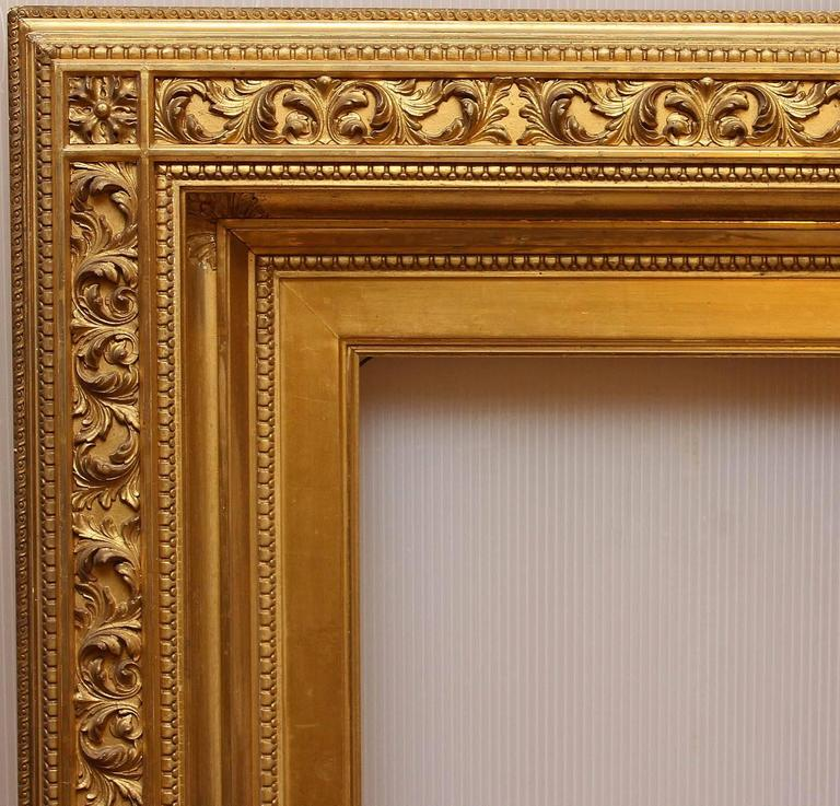 b10a06bee3e8 An exceptional antique American impressionist frame by preeminent gilders  W.K O Brien and Bros.