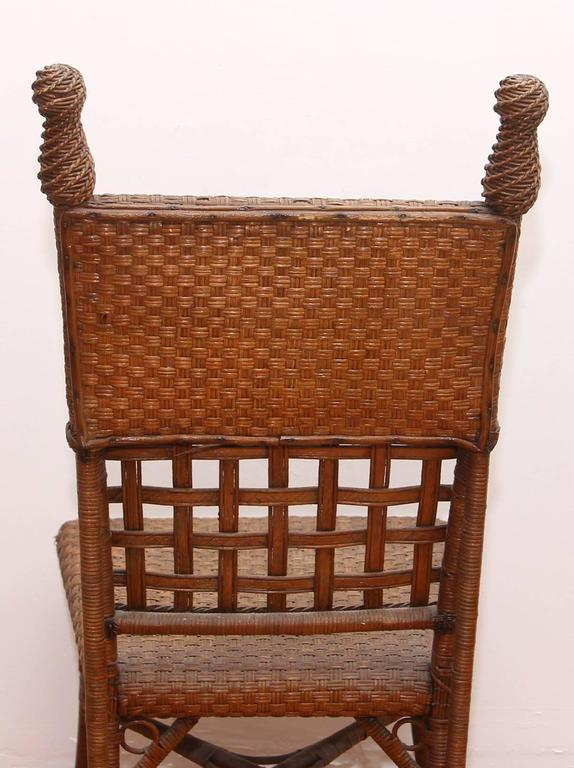 Wicker Photographer S Chair For Sale At 1stdibs