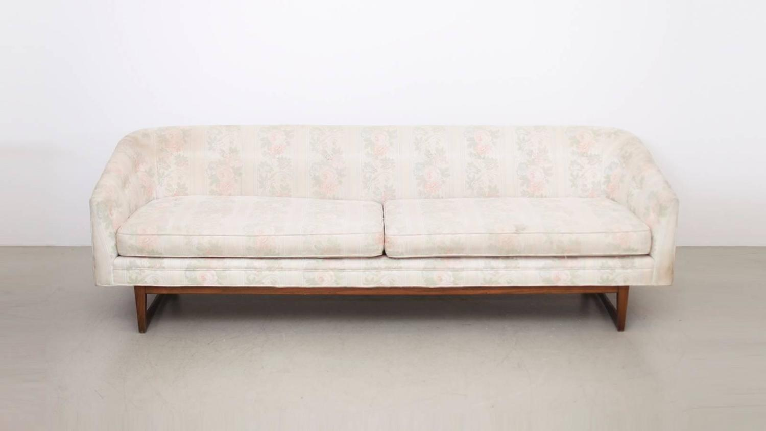 Harvey Probber Three Seat Sofa For Rework For Sale At 1stdibs