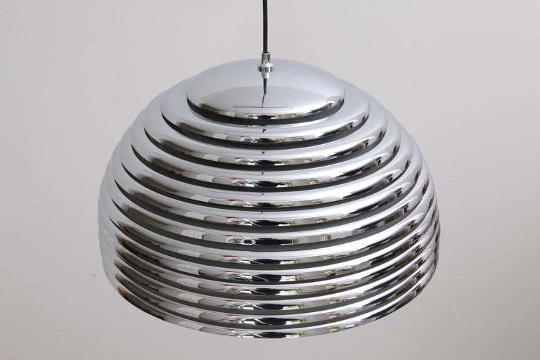 Mid-Century Modern Large Kazuo Motozawa Saturno Pendant Light For Sale