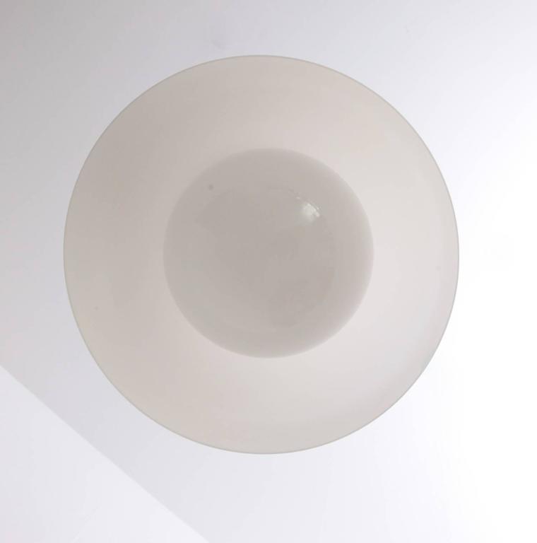 Italian Important Luigi Massoni Pendant Lamp by Guzzini Italy, 1970s For Sale