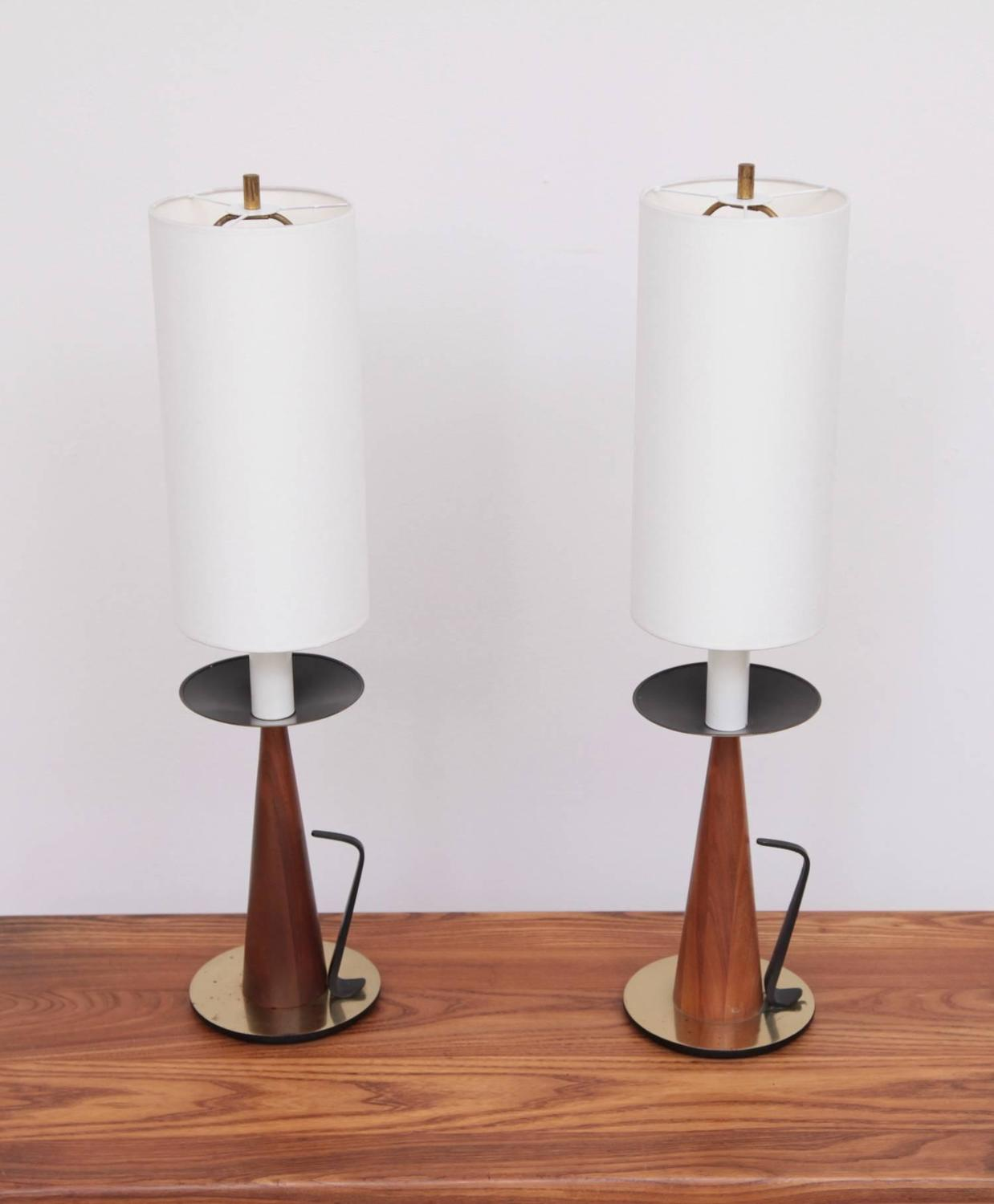 Westwood Lighting: Pair Of Tony Paul Table Lamps For Westwood Lighting For