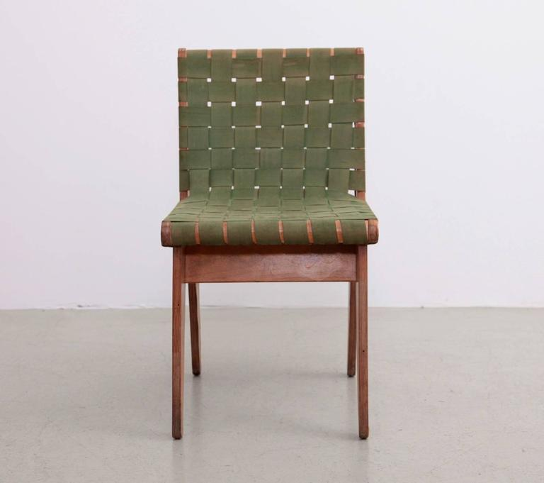 Original Green 1949 Klaus Grabe Plywood Chair For Sale 2