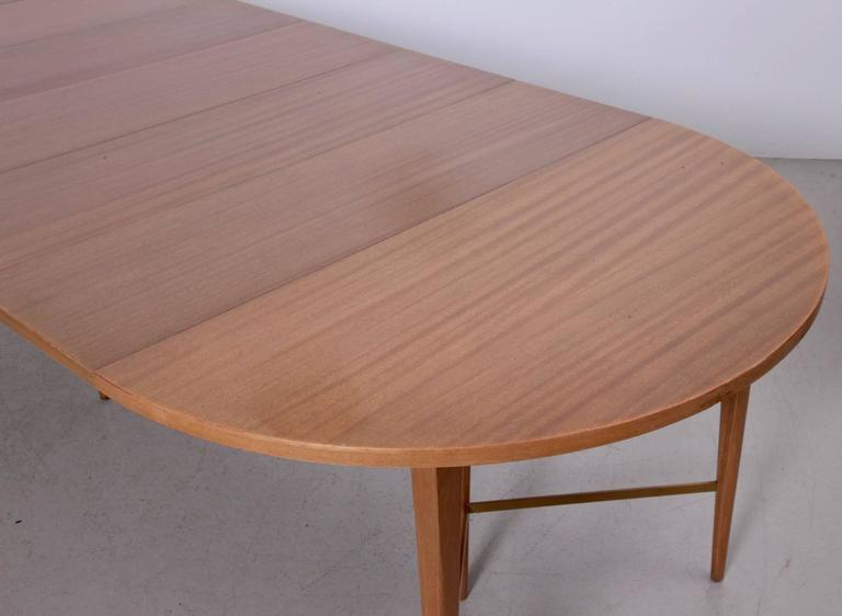 Large 10ft Paul McCobb Extension Dining Table By Calvin At