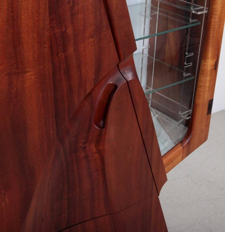 Mid-Century Modern One of a Kind Studio Charles B. Cobb Cabinet, US, 1980s For Sale