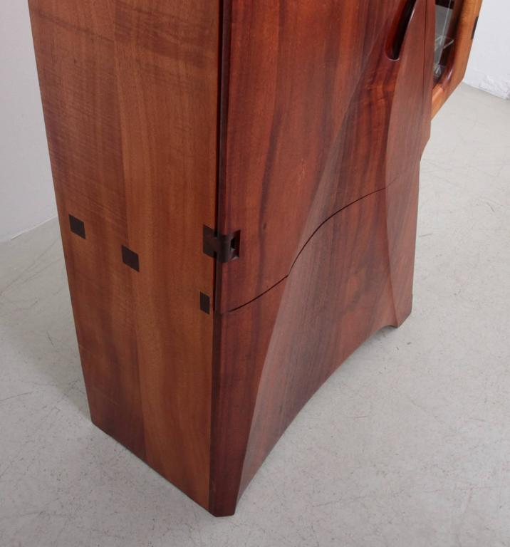 One of a Kind Studio Charles B. Cobb Cabinet, US, 1980s In Excellent Condition For Sale In Berlin, DE