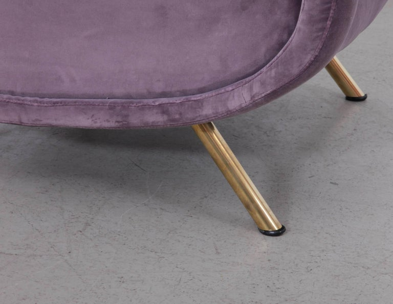 Lady Chair by Marco Zanuso for Arflex in New Upholstery In Excellent Condition For Sale In Berlin, DE