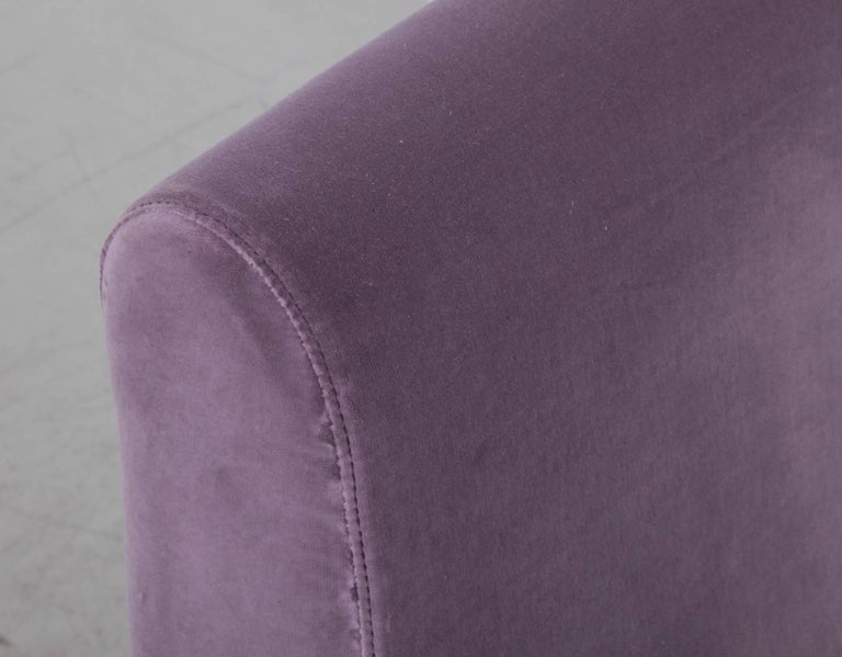 Mid-20th Century Lady Chair by Marco Zanuso for Arflex in New Upholstery For Sale