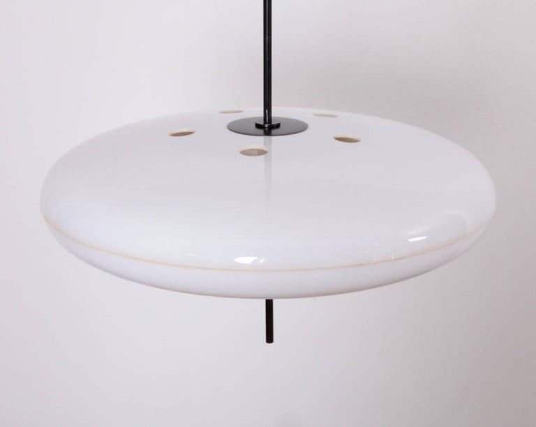Mid-Century Modern Gino Sarfatti Ceiling Light, Model No. 2065 GF for Arteluce For Sale