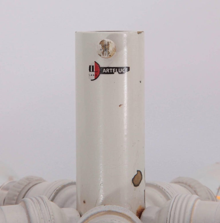 Mid-20th Century Gino Sarfatti Ceiling Light, Model No. 2065 GF for Arteluce For Sale