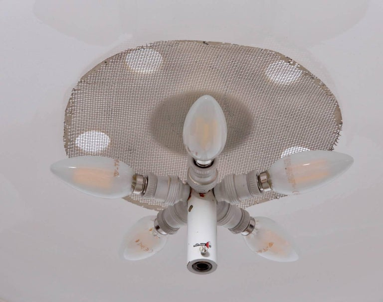 Gino Sarfatti Ceiling Light, Model No. 2065 GF for Arteluce In Good Condition For Sale In Berlin, DE