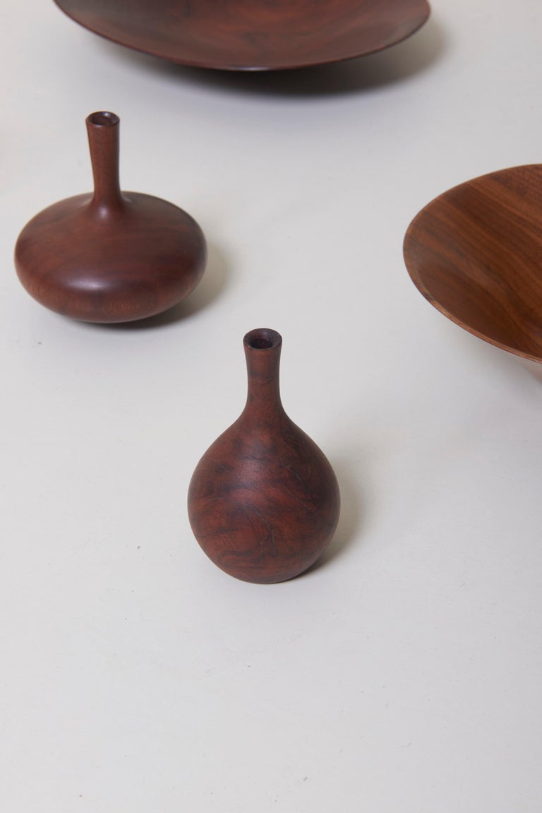 Large 15-Piece Rude Osolnik Turned Wood Collection For Sale 3