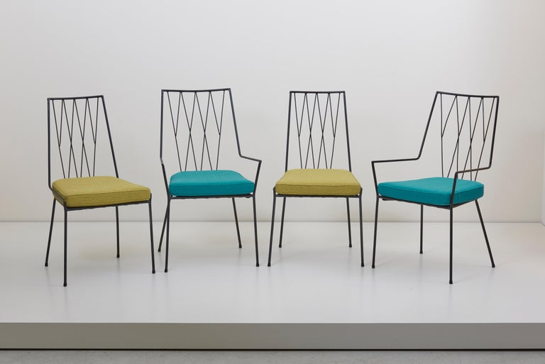 Set of four Paul McCobb Pavilion Collection Chairs for Arbuck, USA, 1953 For Sale 4