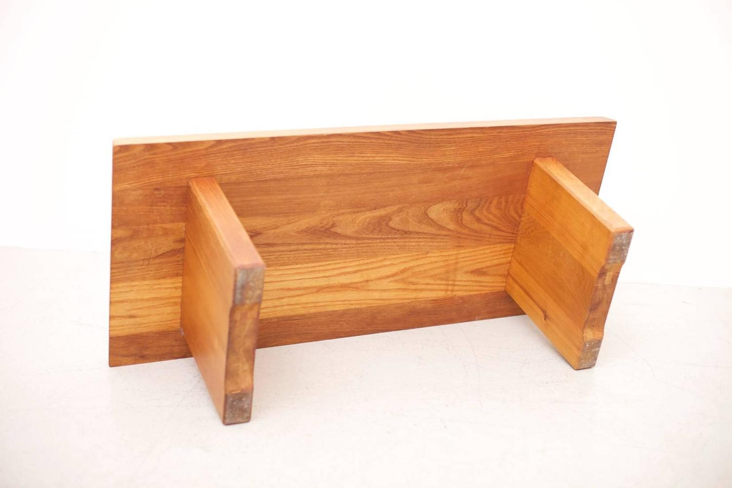 pierre chapo coffee table in elm wood france 1970s for sale at 1stdibs. Black Bedroom Furniture Sets. Home Design Ideas