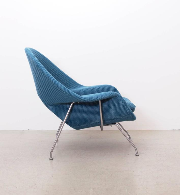 Mid-Century Modern Eero Saarinen Womb Chair by Knoll in new Cato Fabric