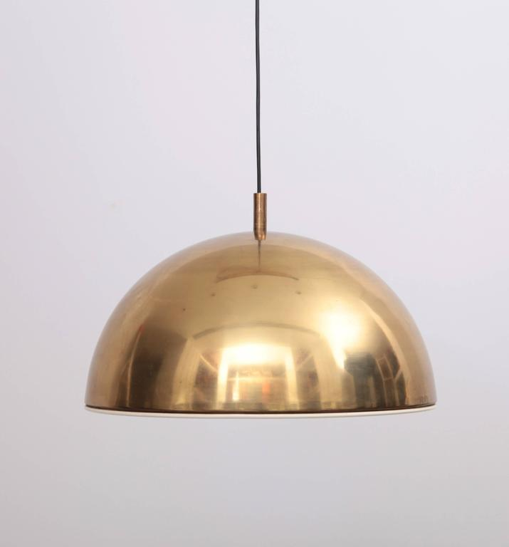 brass hanging kitchen light pendant nz shade huge lamp white enamel inner