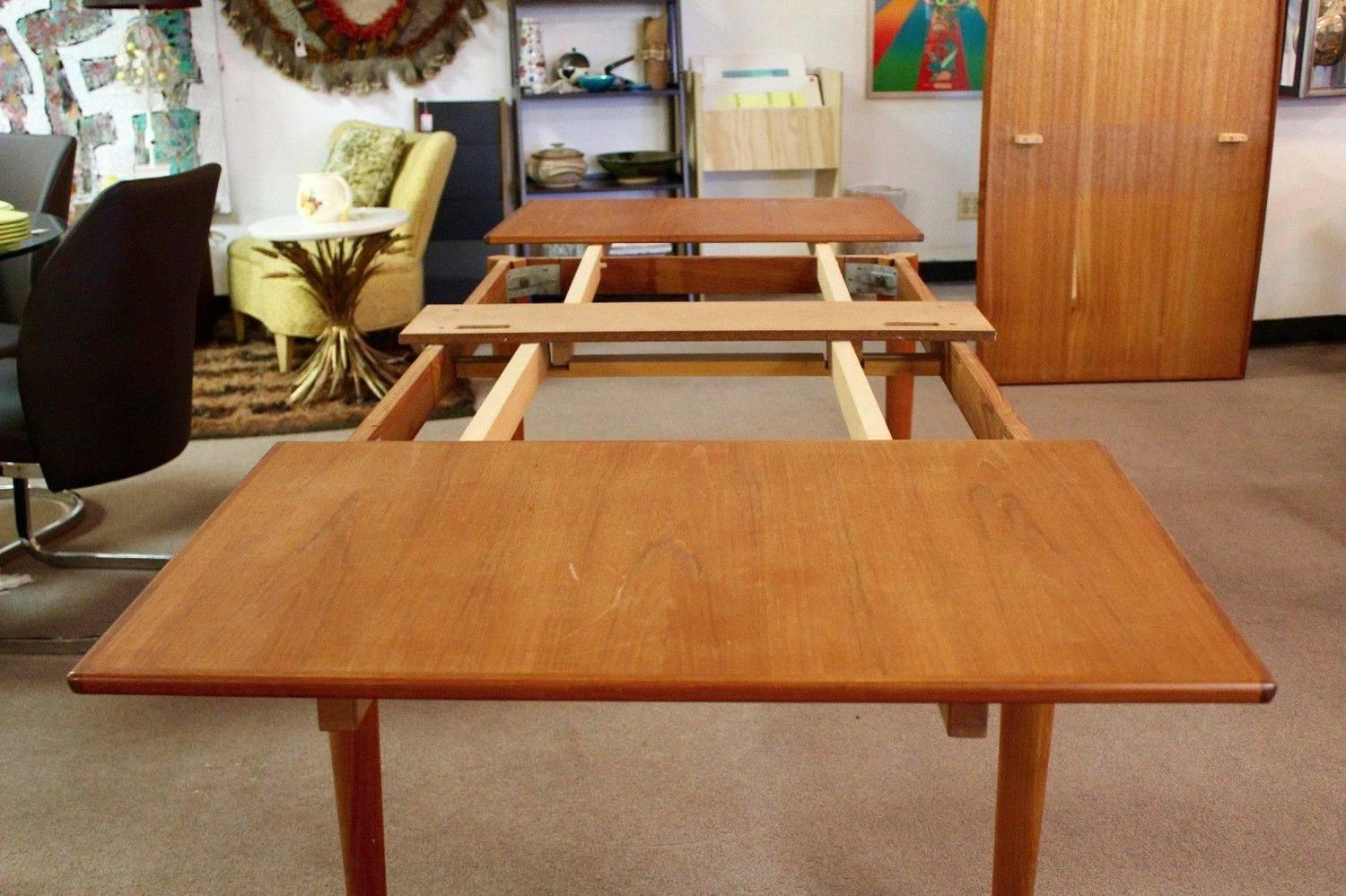 Used danish furniture uploaded by admin in modern furniture category - Mid Century Modern Danish Teak Niels Moller Expandable Dining Table