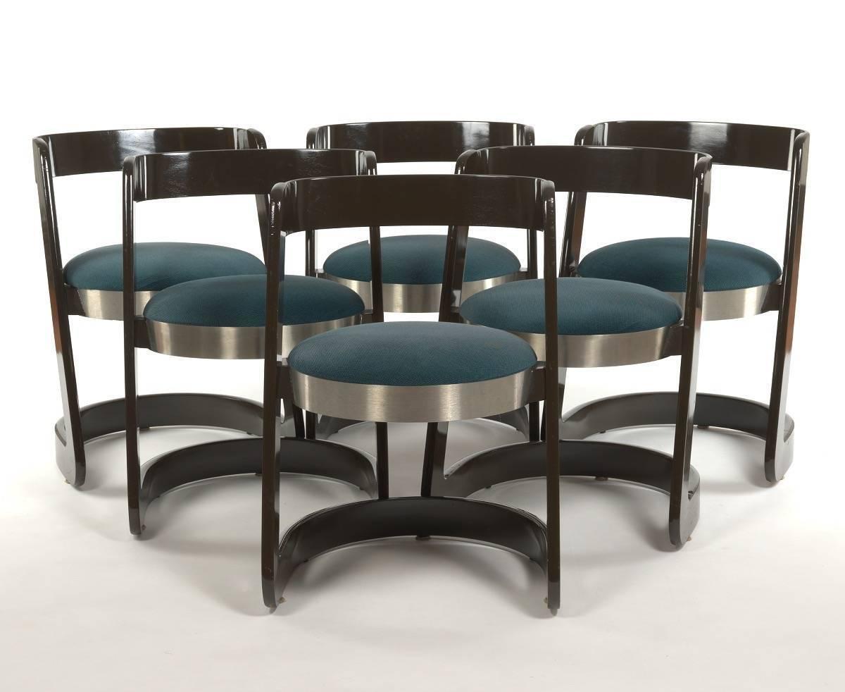 Amazing Willy Rizzo For Mario Sabot Dining Set Table And