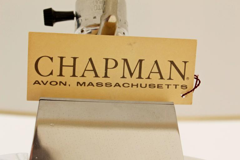 """Pair of Signed """"Aurora"""" Table Lamps by Chapman at 1stdibs"""